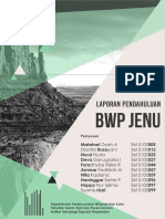 Laporan Pendahuluan RDTR BWP Jenu, Tuban