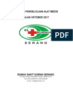 Laporan Pengelolaan Peralatan Medis Oktober