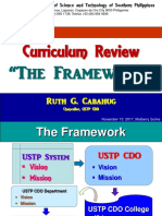 Framework Curriculum Review