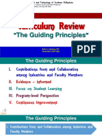 Curriculum Review - Principles