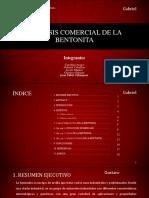 Análisis Comercial de La Bentonita