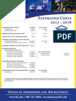cost sheet 2017-2018