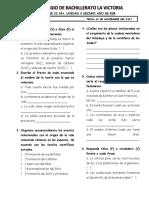 Examen CC.nn. Unidad 4 Decimo