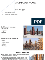 Types of Formwork