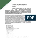 Tipos y Técnicas de Análisis Financiero