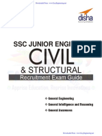 SSC Junior Engineer Civil & Structural Engineering Recruitment - By EasyEngineering.net