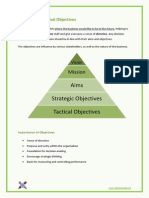 1.3 - Organisational Objectives