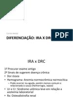 Diferenciacao Ira e Drc