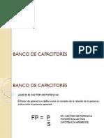 Banco de Capacitores i