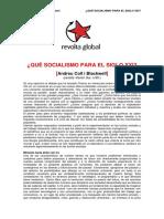 Que Socialismo Para El Siglo XXI - Andreu Coll
