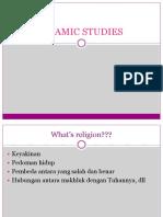 Islam Studies