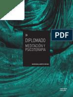 Diplomado Meditacion y Psicoterapia_2014