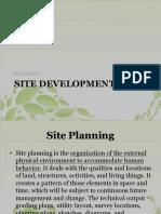 08 Site Development