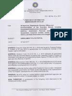 FOI Memorandum Circular No 3 s 2017