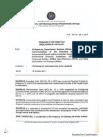 FOI Memorandum Circular No 6