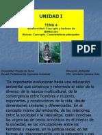 TEMA 4 - Biodiversidad Conceptos y Factores de Distribución
