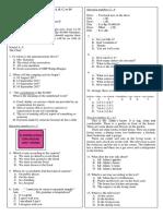 Soal Latihan UKK Bahasa Inggris Kelas VIII