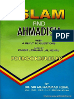 Islam and Ahmadism by Allama Muhammad Iqbal