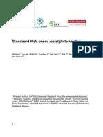 Mesters Et Al., 2010. Standaard Web-based Leefstijlinterventies