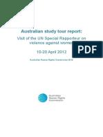 Unsrvaw Report 2012