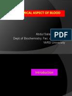 1. Biochemical Aspect of Blood-Ab