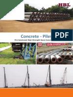 Spun Concrete Piles Product Leaflet