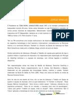 CV Resumido Jorge Araujo