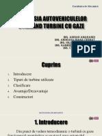 Propulsia Autovehiculelor Utilizând Turbine Cu Gaze