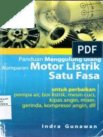 Panduan Menggulung Ulang Kumparan Motor Listrik Satu Fasa