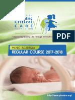 Final Announcemet Regular Course 2017 2018