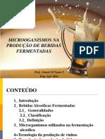 Microogansismos Na Produção de Bebidas Fermentadas Minicurso Uesb