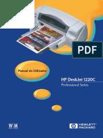 Manual Hp 1220c