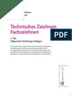 Musterseiten Technisches Zeichnen Fachzeichnen 1. Teil