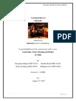 LVMR Final Report Macbeth
