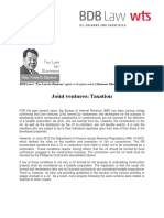 404. Joint ventures Taxation FDD 8.15.13.pdf