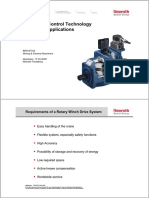 Secondary Control Technology for Marine Winch