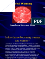 Global Warming Greenhouse Gasses and Climate