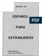 Español Para Extranjeros (Materiales de Clase)
