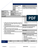 AM Program Development Program Design