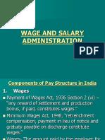 Wage Salary
