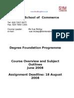DF course outline - Jun08