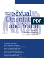 Just the Facts About Sexual Orientation and Youth.