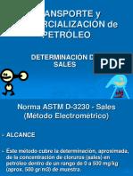 Astm D-3230 Sales en Petróleo