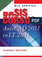 Basis Cursus AutoCAD 2011 Preview