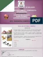 Exposicion de Tasa de Interes Simple y Compuesto