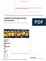Usefull Civil Engineering Calculation.pdf