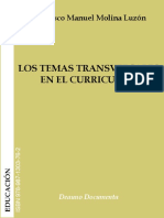 Los Temas Transversales en El Curriculum