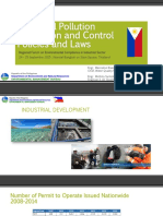 Industrial Pollution Prevention and Control Policies and Laws