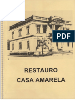 1999 - Proj. Restauro e Pesq. Histórica