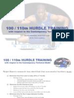 100 110m Hurdle Training Sprint-lindeman-symposium-2015